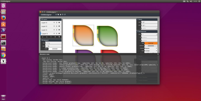 CSSDesigner for Linux