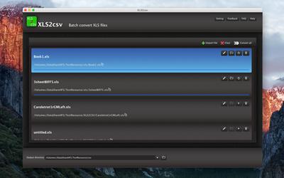 XLS2csv for Mac 4.19
